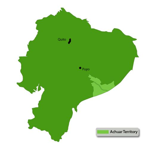 Achuar-territory